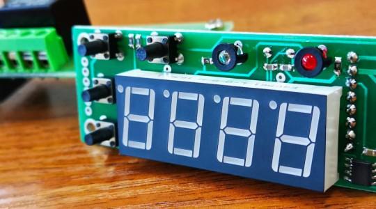 Терморегулятор для систем отопления с электрокотлом и насосом